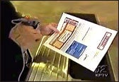 TicketFast® ticket being scanned at an event