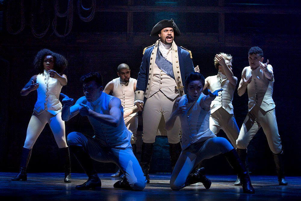 Hamilton Production Shots