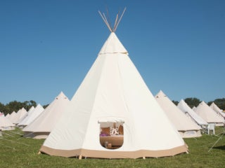 Latitude - Luxury Tipi for 2 or 4