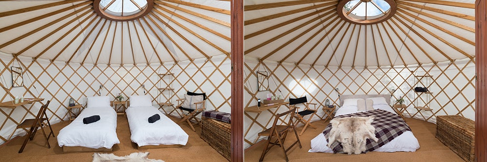 Latitude - Luxury Yurt for 2