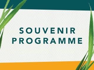 Latitude Souvenir Programme