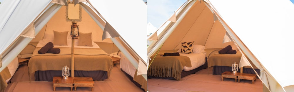 Latitude - Luxury Bell Tent for 2, 3 or 4