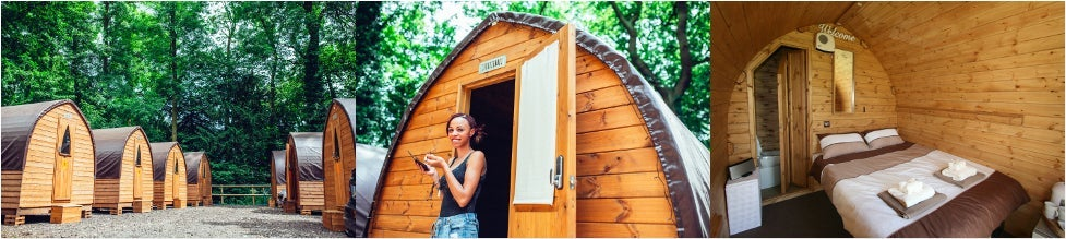 Luxury Cabin for 2 (en-suite)