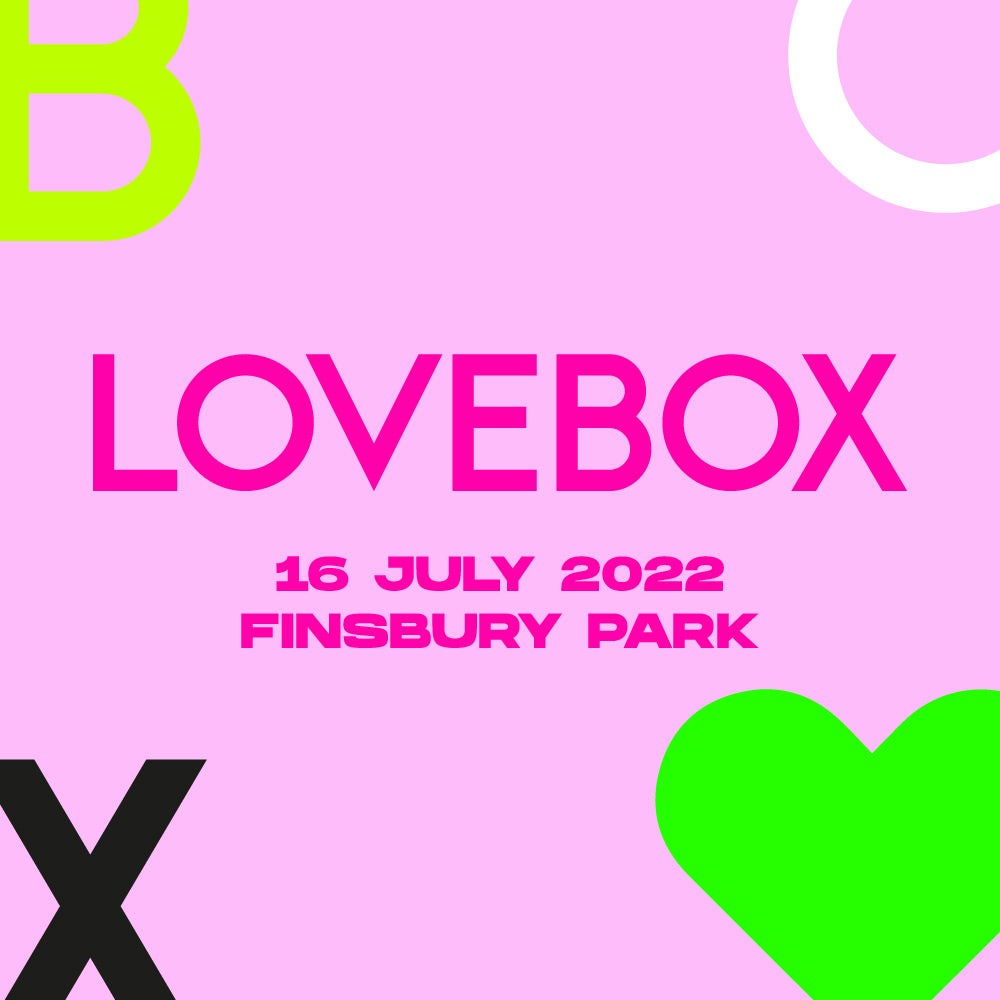 Lovebox Festival Line-up and music acts 2022