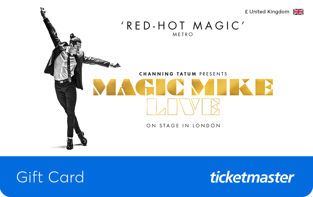 Magic Mike Live Gift Card