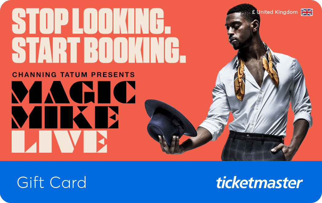 Magic Mike Live Gift Card