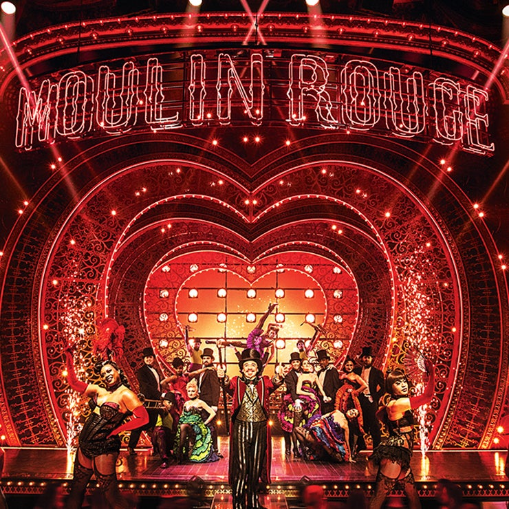 Accessible tickets for Moulin Rouge! The Musica The Musical