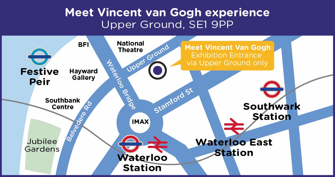 Meet Van Gogh 2020 Location