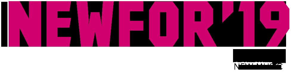 new for 2019 logo