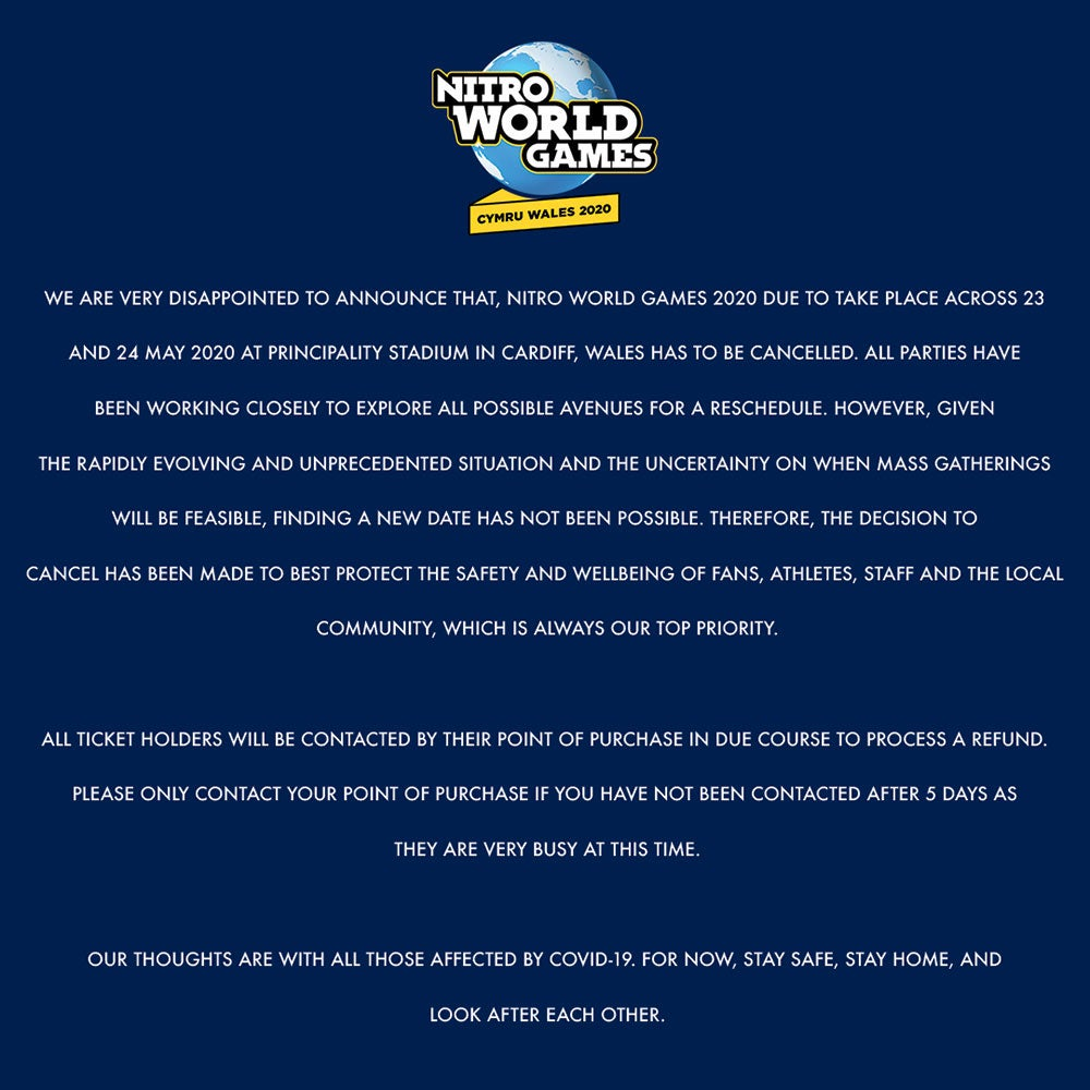 Nitro World Games 2020