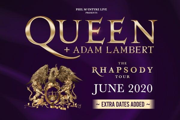 queen 2020 UK Tour
