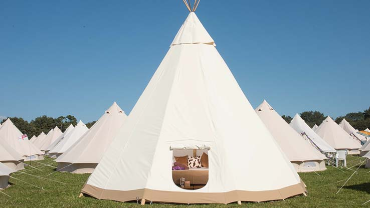 Luxury Tipi for 4