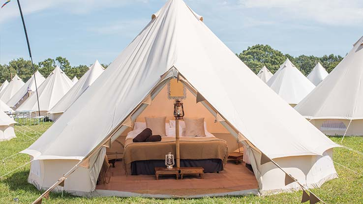 Luxury Bell Tent For 2 or 4