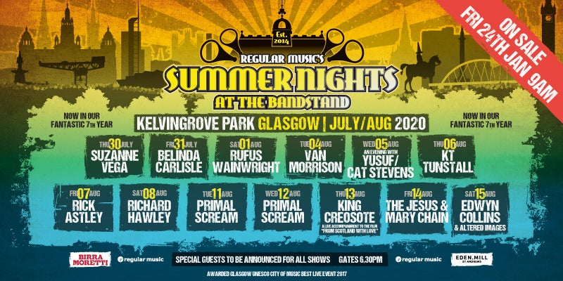 Glasgow Summer Nights 2020