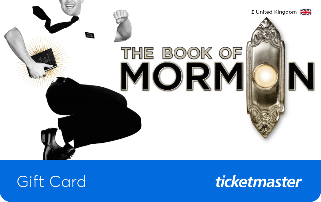 The Book of Mormon Musical Gift Card
