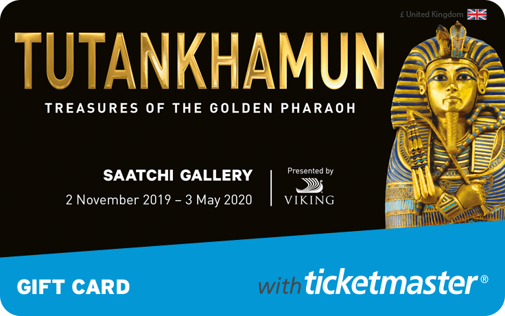 Tutankhamun - Treasures of the Golden Pharaoh Gift Card