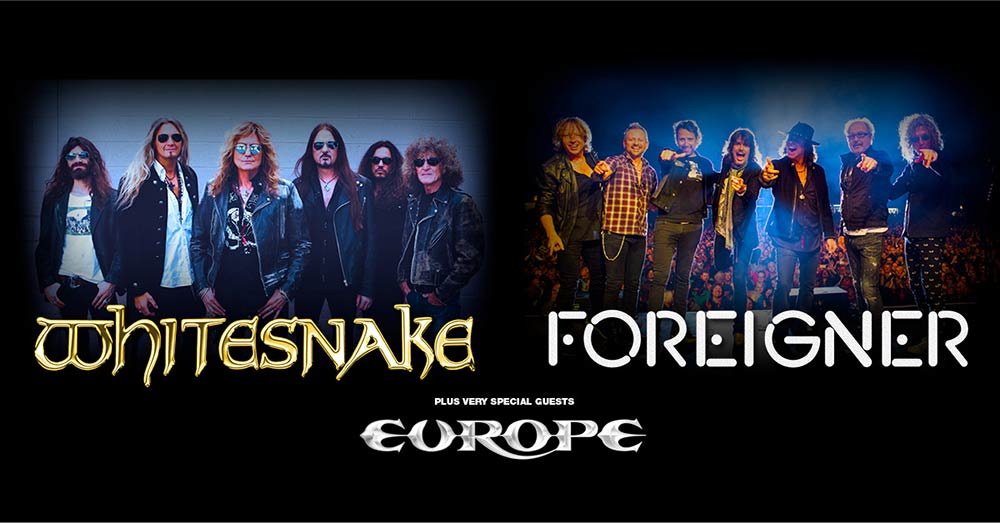 Whitesnake Foreigner Europe Tour 2020
