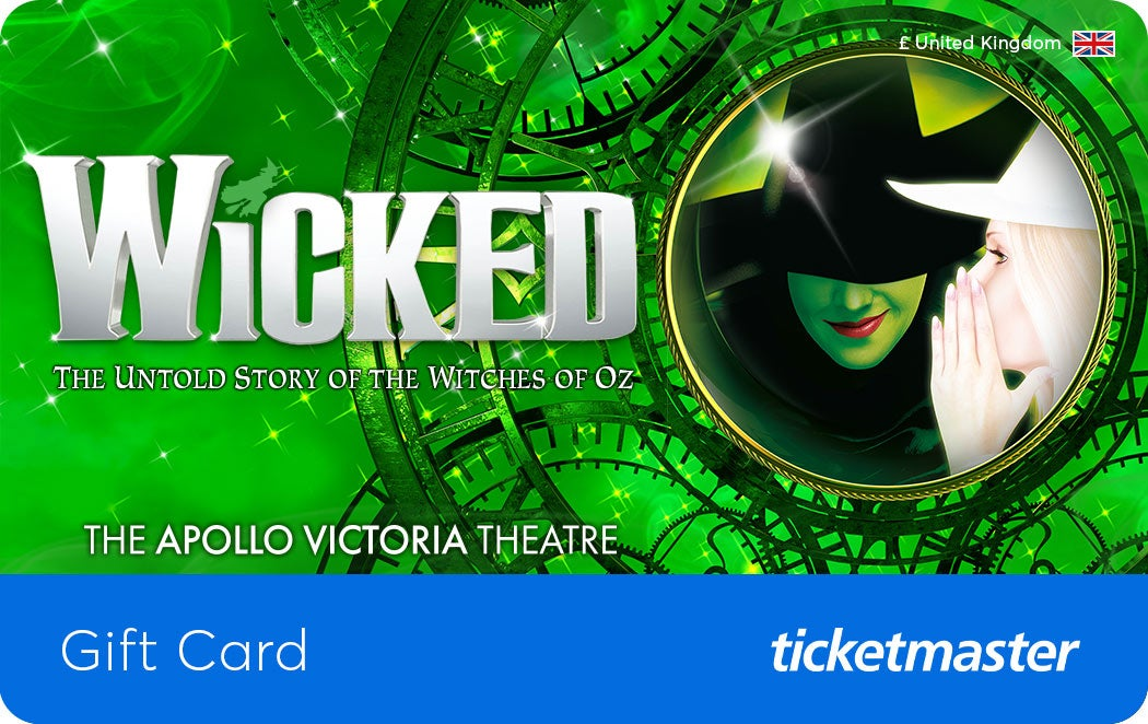 Wicked The Musical Gift Card