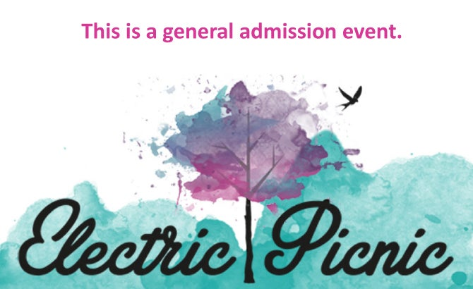 Seating Chart: Electric Picnic General Admission