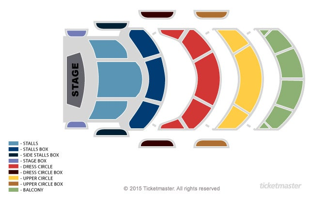 Seating Chart: General Seating