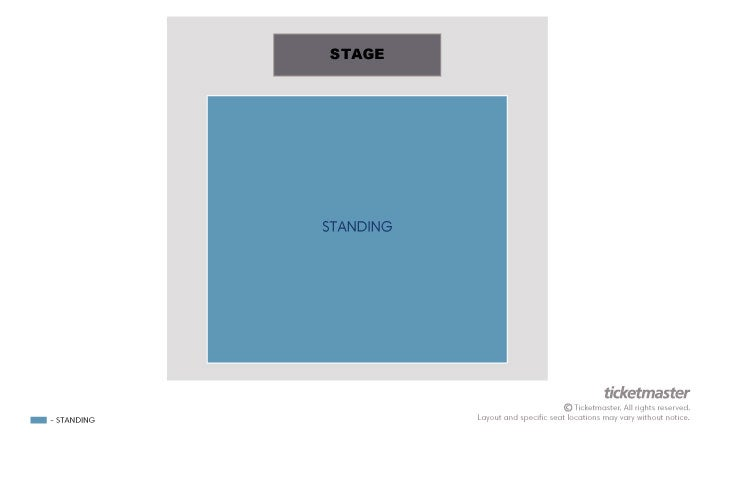 Seating Chart: Concert